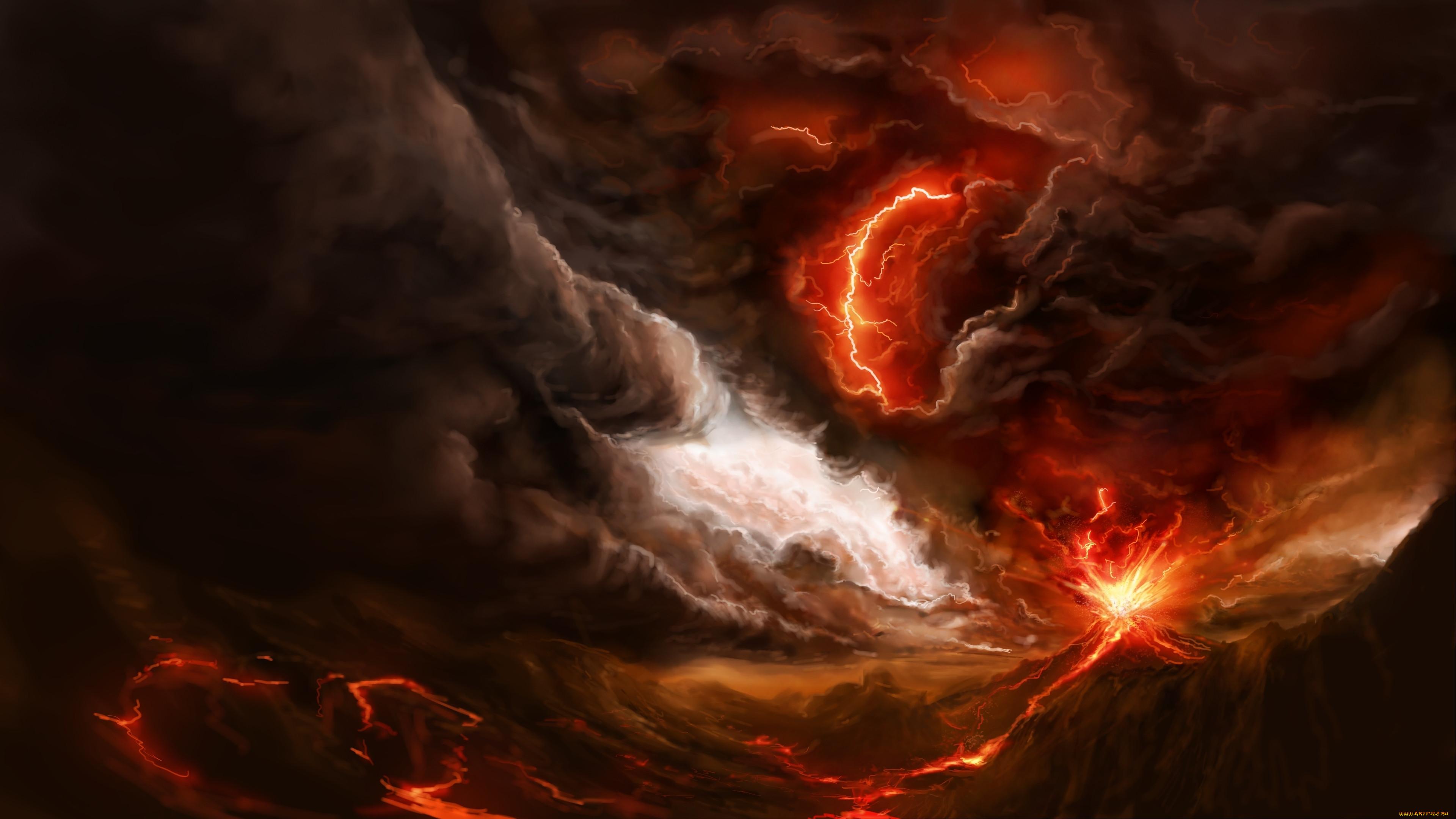 называются картинки молния и огонь распространенная область
